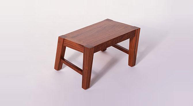Angle Footstool