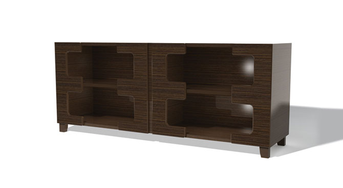 Gianni Sideboard – 4 Door Open