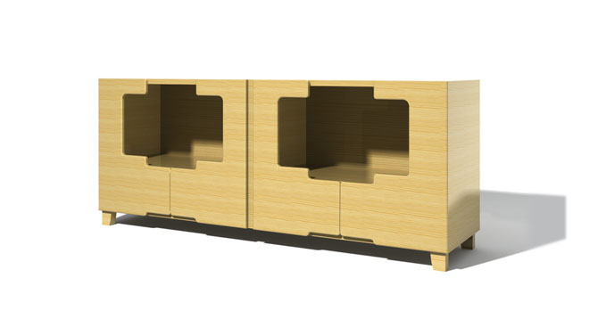 Gianni Sideboard – Closed Bottom