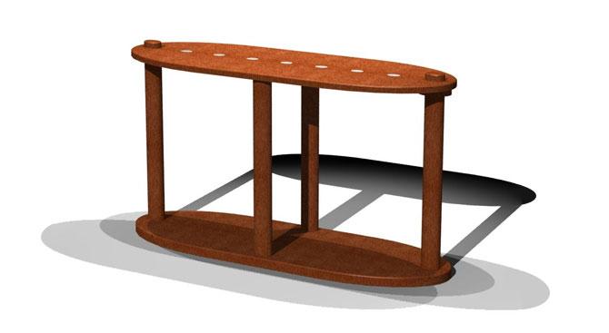 Ovalino Console Table
