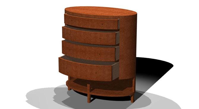 Ovalino Dresser