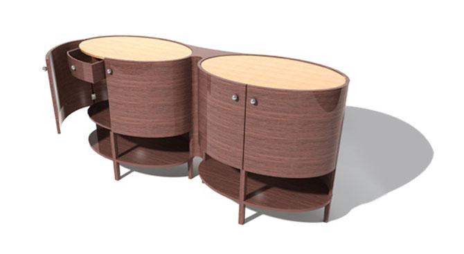 Ovalino Sideboard